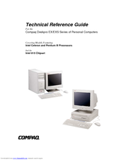 HP Deskpro EX P700 Technical Reference Manual