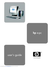 HP e-pc s10 User Manual