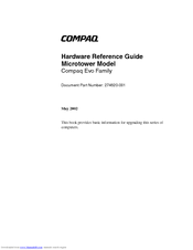 manual compaq evo d310