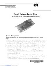 HP A7789A Installation Manual