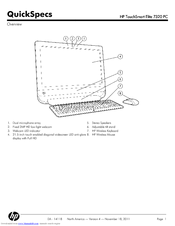 HP TouchSmart 7320 Specification