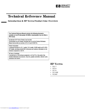 HP Vectra VEi7 Technical Reference Manual