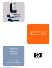 HP vectra vl420 Technical Reference Manual