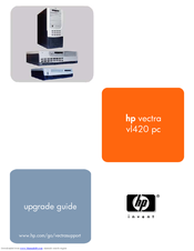 HP vectra vl420 Upgrade Manual