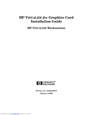HP Visualize J7000 Installation Manual
