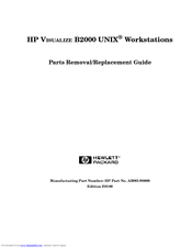 HP c3700 - Workstation Supplementary Manual