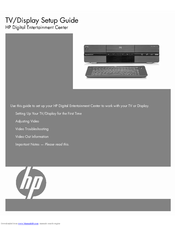 HP z560 Setup Manual