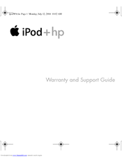 HP mp5001 - Apple iPod Mini Manual