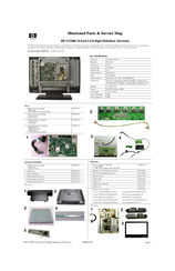 HP LT3200 Illustrated Parts & Service Map