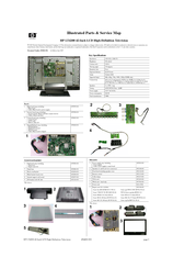HP LT4200 Illustrated Parts & Service Map