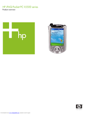 HP H5555 - iPAQ Pocket PC Product Overview