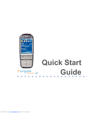 cingular 2125 quick start manual pdf download rh manualslib com Cingular 8525 Cingular 3125