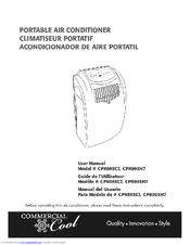 commercial cool portable air conditioner cprb08xcj manual