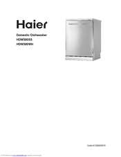 haier hdw300ss user manual pdf download rh manualslib com Haier Dishwasher Recalls Haier 18 Inch Dishwasher