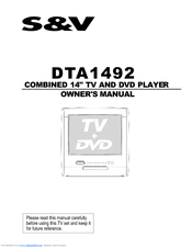Haier DTA-1492 Owner's Manual