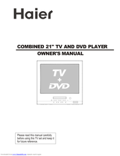 Haier DTA-2189 Owner's Manual