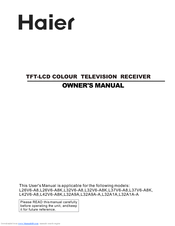 Haier L37V6-A8 Owner's Manual