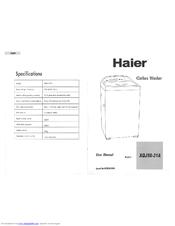 haier xqj50 31 user manual pdf download rh manualslib com haier xqj50-31 manual Haier Portable Air Conditioner Manual
