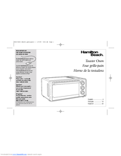 Hamilton Beach 31506 - Hamilton 6 SL Toaster Oven User Manual