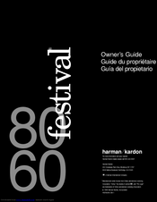 Harman Kardon FESTIVAL 60 Owner's Manual