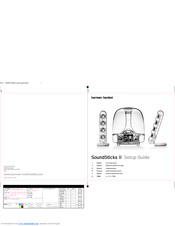 harman kardon soundsticks ii manuals rh manualslib com harman kardon soundsticks i manual harman kardon soundsticks ii user manual