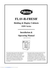 hatco flav r savor manual