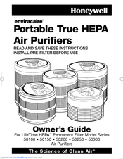Honeywell 50150-N Owner's Manual