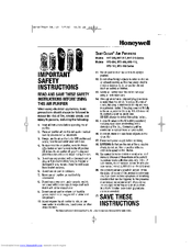 Honeywell QuietClean HHT-215 series User Manual