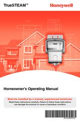 honeywell hm506h8908 truesteam humidifier 6 gal manuals. Black Bedroom Furniture Sets. Home Design Ideas