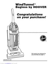 hoover u5753900 owner s manual pdf download rh manualslib com Hoover WindTunnel Lite Vacuum Hoover WindTunnel Lite Vacuum