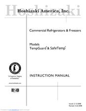 hoshizaki safetemp fh2 aac manuals. Black Bedroom Furniture Sets. Home Design Ideas
