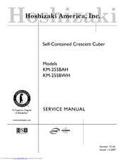 hoshizaki km 255bah manuals rh manualslib com Hoshizaki Manuals AM150 ABF hoshizaki service manual for ice machine