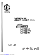 hoshizaki km 900mrh manuals hoshizaki km 900mrh parts list