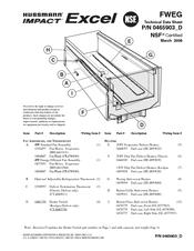 Hussmann FWEG Technical Data Sheet