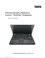 IBM ThinkPad A22m Reference Manual
