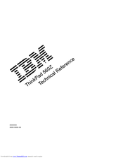 IBM 560E - ThinkPad 2640 - Pentium MMX 166 MHz Supplementary Manual