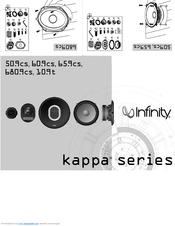 Infinity Kappa Series 60.9cs User Manual
