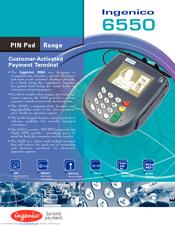 I6550 Ingenico manual