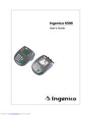 INGENICO I6550 USER MANUAL Pdf Download
