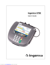 ingenico i6780 manuals rh manualslib com Kindle Fire User Guide User Guide Template