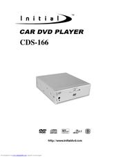 initial cds 166 manuals rh manualslib com DVD Player Hair Initial Portable DVD Player Charger