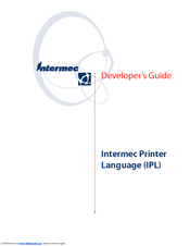 Intermec easycoder 4440 manuals.