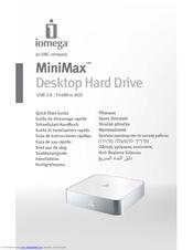 iomega minimax 34937 manuals rh manualslib com iomega user manual pdf iomega instruction manual