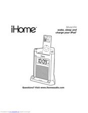 ihome ih4 manuals rh manualslib com iHome Clock Radio User Manual iHome Clock Radio User Manual