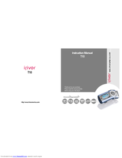 iriver t10 512mb manuals rh manualslib com iRiver MP3 Qsmt10 iRiver MP3 Qsmt10
