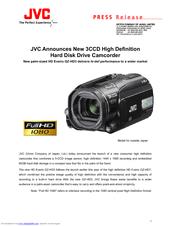 Jvc gz-hd7 60gb camcorder black | ebay.