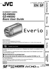 jvc everio gz hm50 manuals rh manualslib com jvc everio gz hm30 software download jvc everio gz-hm30bu manual en español