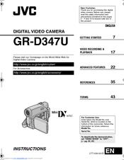 jvc gr d347u manuals rh manualslib com
