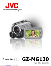 jvc everio gz mg130 manuals rh manualslib com jvc gz mg130e manual jvc camcorder gz-mg130u manual