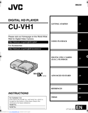 JVC CU-VH1EXS Instructions Manual